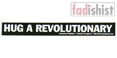'Hug a Revolutionary' Sticker