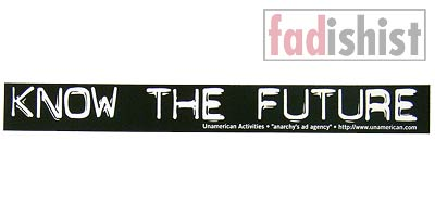 'Know the Future' Sticker
