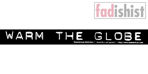 'Warm The Globe' Sticker