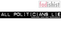 'All Politicians Lie' Sticker
