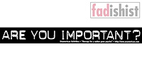 'Are You Important' Sticker