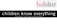 'Children Know Everything' Sticker