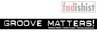 'Groove Matters' Sticker