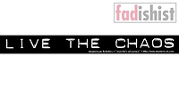 'Live The Chaos' Sticker