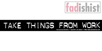'Take Things From Work' Sticker