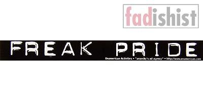 'Freak Pride' Sticker