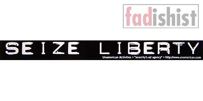 'Seize Liberty' Sticker