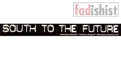 'South To The Future' Sticker